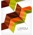 Abstract business geometric pattern vector image vector image