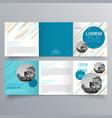 brochure design 960 vector image
