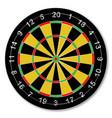 dartsboard vector image vector image