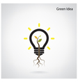 Green industry concept vector image vector image