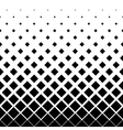 Halftone background pattern of squares in diagonal vector image vector image