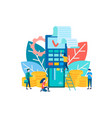 payment concept nfc vector image vector image