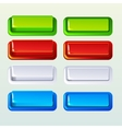 Push Buttons For A Game Or Web Design Element vector image vector image