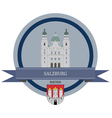Salzburg vector image vector image
