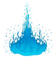 Water splash design element vector image vector image