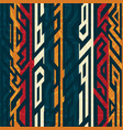 african geometric pattern vector image vector image
