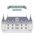Azay-le-Rideau France vector image vector image