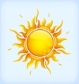 Bright yellow sun vector | Price: 1 Credit (USD $1)