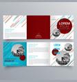 brochure design 965 vector image vector image