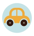 Isolated baby toy car design vector image vector image