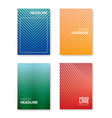 minimal abstract covers gradients design vector image