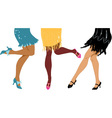 Girls night out Gatsby style vector image