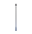 A street light stand on vector image vector image