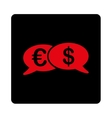 Banking Transactions Icon from Commerce Buttons vector image vector image