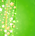Beautiful green background vector image vector image