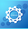 blue industrial background vector image vector image