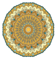 Mandala Round Ornament Pattern vector image vector image