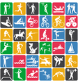 Seamless pattern with olympic sport icons vector | Price: 1 Credit (USD $1)