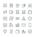 Trade Cool Icons 1 vector image