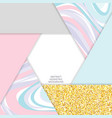 trendy colors abstract background glitter gold vector image vector image