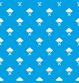 vietnamese hat pattern seamless blue vector image vector image