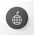 nature icon symbol premium quality isolated world vector image