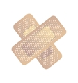 bandage medical isolated icon vector image vector image