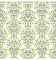Black on green stripes elegant border in damask vector image vector image