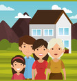 family related design vector image vector image