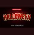 halloween text effect premium vector image vector image