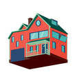 Isolated house vector image vector image