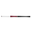long cigarette holder with reflection vector image vector image