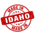 made in idaho vector image vector image