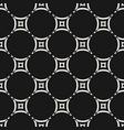 ornamental grid seamless pattern geometric vector image vector image