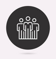 people - icon isolated vector image