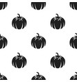 pumpkin icon black singe vegetables icon from the vector image