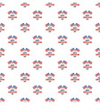 american flag constitution day pattern seamless vector image vector image
