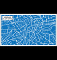 london england map in retro style vector image