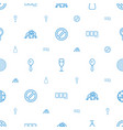 shiny icons pattern seamless white background vector image vector image