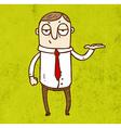 Waitor Cartoon vector image vector image