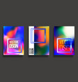 abstract cover design colorful gradient vector image