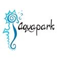 Aquapark symbol vector image vector image
