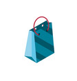 paper bag online shopping isometric icon vector image vector image