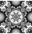 Seamless mandala pattern Vintage decorative vector image