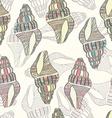 Seashell18 vector image vector image