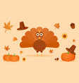 thanksgiving miscellaneous design vector image