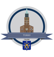 Turku vector image vector image