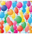 abstract balloons background seamless vector image vector image