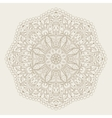 abstract radial Indian symbol vector image vector image