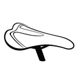 Bike Saddle sketch vector image vector image